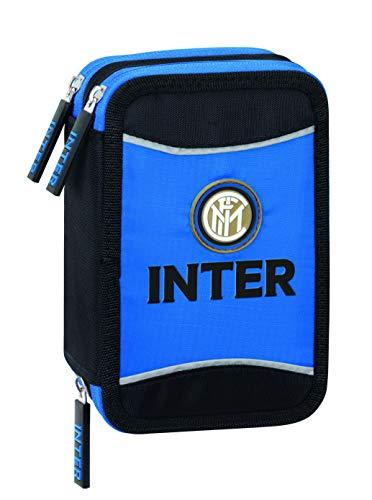 Astuccio Inter Completo 3 Zip Con Penna Frixion Ferrari 0