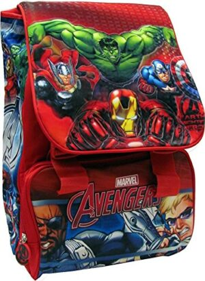 Avengers Zaino Scuola Estensibile Originale Avengers Prodotto Ufficiale Marvel 0