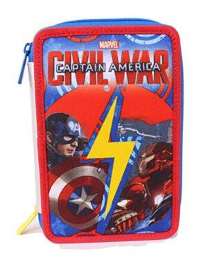 Astuccio Captain America Civil War Poliestere Multicolore 0