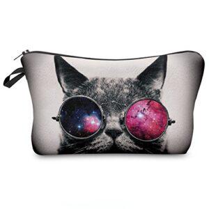 Astuccio Matita Caso Portapenne Beauty Case Pennarelli Ed Accessori Scuola Borsetta Per Cosmetici Galaxy Sunglasses Cat 009 0