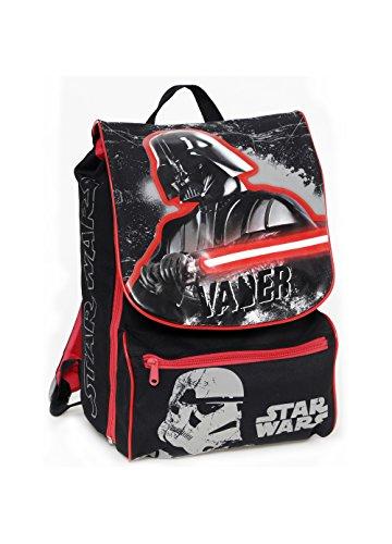 Auguri Preziosi Zaino Estensibile Medium Star Wars Spada Laser 27x38x19 Scuola Elementare Viaggio Tempo Libero 0