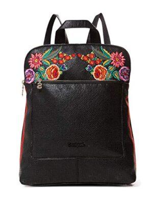Desigual Bag Mex Nanaimo Women Borse A Zainetto Donna Nero Negro 11x35x28 Cm B X H T 0