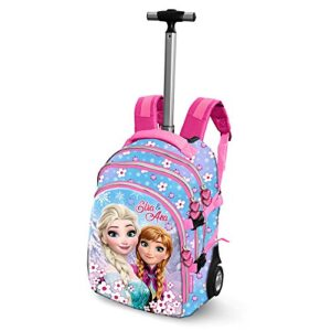 Die Eisknigin Frozen Floret Travel Trolley Rucksack Zaino Casual 28 Liters Blu 0