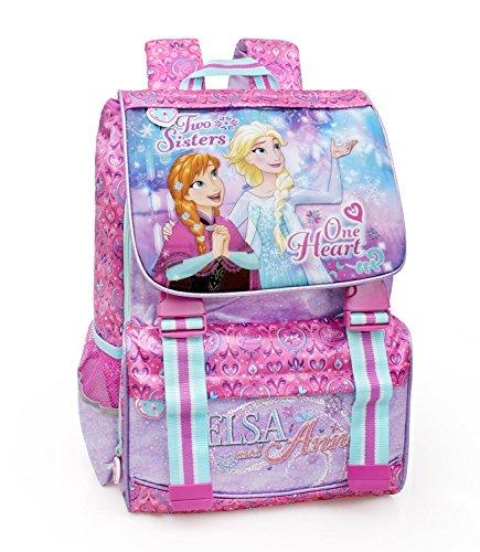 Disney Frozen 57212 Zaino Da Scuola Estensibile Poliestere Multicolore 0