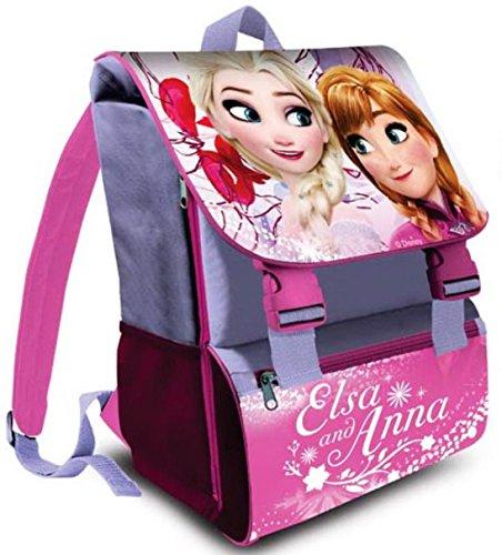 Disney Frozen Anna Elsa Grande Zaini Scuola 41x29x15cm 0