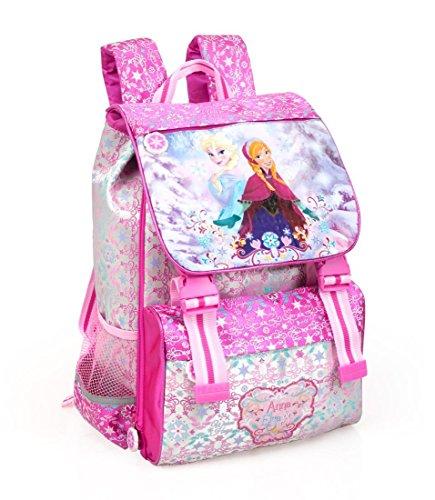 Disney Frozen Zaino Scuola Estensibile 0