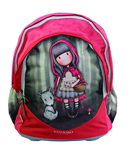Gorjuss Little Red Riding Hood Cartella 40 Cm Multicolore Red Schwarz 0