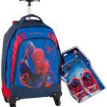 Giochi Preziosi Zaino Trolley Deluxe Spiderman 4 Con Super Sorpresa 0