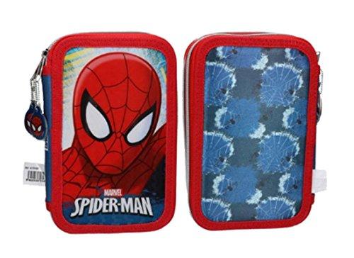 Set scuola Spiderman con zaino, astuccio e diario