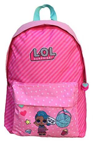 Kids Lol Surprise Mochila Con Espaldera 43x31 Cm Cartella 43 Cm Rosa 0