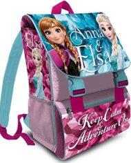 Kit Scuola 3 In 1 School Promo Pack Zaino Estensibile Astuccio 3 Zip Accessoriato Ombrello Salvaspazio Disney Frozen Anna E Elsa Edizione Nuova 0 1