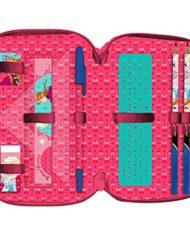 Kit Scuola 3 In 1 School Promo Pack Zaino Estensibile Astuccio 3 Zip Accessoriato Ombrello Salvaspazio Disney Frozen Anna E Elsa Edizione Nuova 0 4