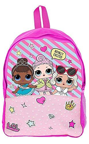 Lol Surprise Zaino Scuola Lol Surprise Borsetta Bimba Bambole Lols Zaino Prima Elementare Accessori Per La Scuola Bambina Confetti Pop 0
