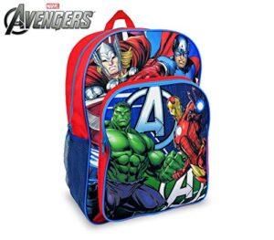 Marvel Av16102 Zaino A Spalla Adattabile Per Trolley Scuola The Avengers 42x31x12 Cm Media Wave Store 0