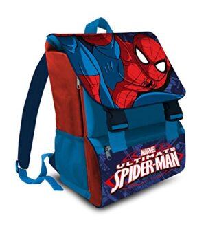 Marvel Spiderman Zaino Estensibile Scuola Elementare Italiano 41cm Poliestere 0