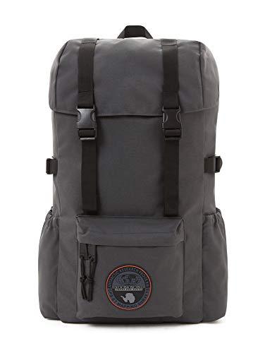 Napapijri Hoyal Day Pack Zaino Casual 42 Cm 20 Liters Grigio Dark Grey Solid 0