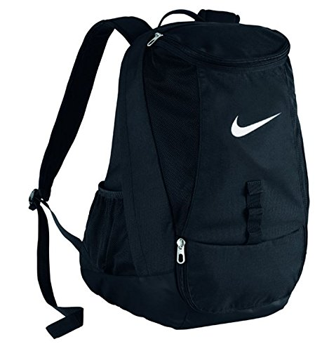 Nike Club Team Swoosh Backpack Zaino Casual 45 Cm 37 Liters Nero White 0