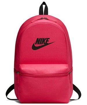 Nike Nk Heritage Bkpk Zaini Unisex Adulto Multicolore Rush Pinkblack Blac 15x24x45 Cm W X H L 0
