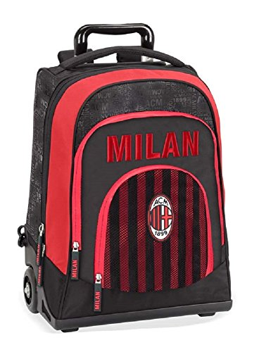 Panini 58064 Zaino Trolley Ac Milan Licenza Ufficiale 2018 0