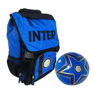 Panini 58135 Zaino Estensibile Inter Con Pallone Cuoio Licenza Ufficiale Scuola 20182019 0