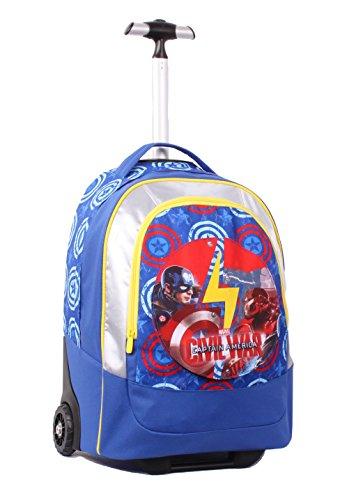 Seven Captain America Civil War 2b8001605 591 Zaino 30 Litri Poliestere 2 Cerniere Multicolore 0