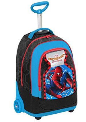 Seven Marvel Spiderman Homecoming 2 In 1 Zaino Con Spallacci A Scomparsa 31 L Multicolore 0