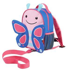 Skip Hop 212202 Let Butterfly Zainetto Per Bambini Con Guinzaglio Motivo Farfalla Multicolore 0