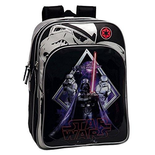 Star Wars 2192451 Zaino Scuola Adattabile Al Carrello Bambini Darth Vader Nero 0