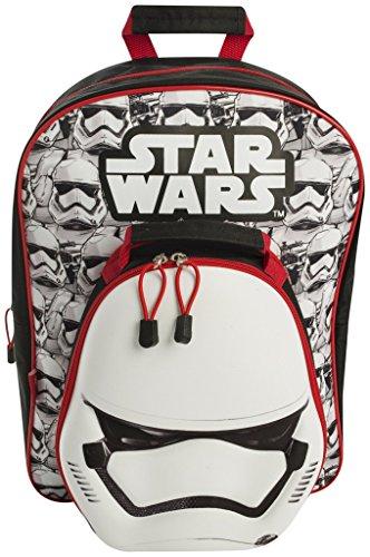 Star Wars Stormtrooper Stw7 8345 2 Zaino Con Staccabile Per Il Pranzo Multicolore 0