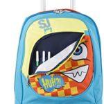 Trolley Big Sj Faccine Azzurro Arancione Giallo 31 Lt Uso Zaino Spallacci A Scomparsa Totale Scuola E Viaggio 0 2