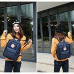 Tibes Zaino Da Uomo Zaino Della Scuola Borsa Zaino Backpack Laptop Schoolbag Zaino Per Scuola Zaino Per Pc Profondo Blu 0 3