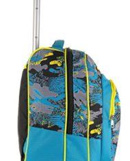 Trolley Bambino Seven Cartellina A4 Azzurro Giallo Camouflage Spallacci A Scomparsa Zaino 35 Lt Scuola E Viaggio Idea Regalo Natale 0 1