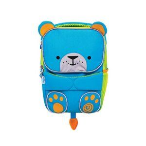 Trunki Trunki Toddlers Backpack Hi Viz Childrens Pre School Rucksack Toddlepak Bert Bear Blue Zainetto Per Bambini 27 Cm 5 Liters Blu 0