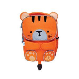 Trunki Trunki Toddlers Backpack Hi Viz Childrens Pre School Rucksack Toddlepak Tipu Tiger Orange Zainetto Per Bambini 27 Cm 5 Liters Arancione 0