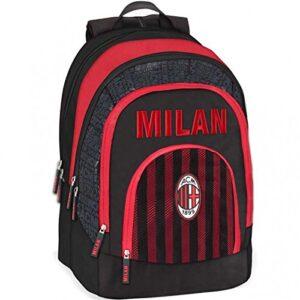 Zaino Scuola Organizzato Ac Milan 0