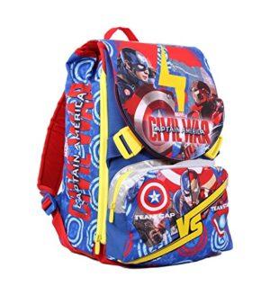 Zaino Captain America Civil War Sdoppiabile 28 Litri Poliestere Multicolore 0