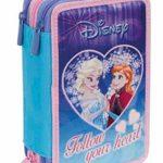 Zaino Frozen Seven New 2017 Follow Your Heart Scuola Sdoppiabile Big Pattina Sfogliabile 28 Lt Schoolpack Si Illumina Al Buio Astuccio 3 Scomparti Bambola Anna 0 1