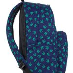 Zaino Invicta Ollie Pack Face Fantasy 25 Lt Blu Tasca Per Portatile E Tablet 0 1