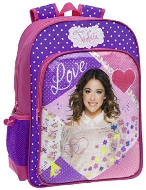 Zaino Scuola Adattabile Disney Violetta Love 0