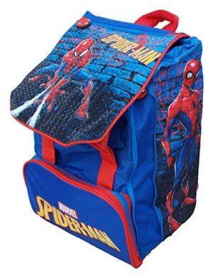 Zaino Marvel Spiderman Blu Rosso Scuola Bambini 0