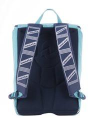 Zaino Scuola Estensibile Invicta Logo Azzurro 31lt 0 0
