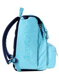 Zaino Scuola Estensibile Invicta Logo Azzurro 31lt 0 2