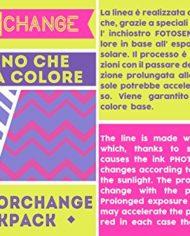 Zaino Scuola Advanced Seven Sunflower Cambia Colore Viola Rosa 30 Lt Inserti Rifrangenti 0 1