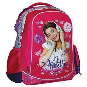 Zaino Scuola Ovale 4 Tasche Violetta Disney 0