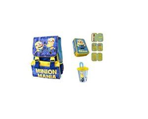 Chance Irpot Set Scuola N3 Minion Zaino Mn16101 Astuccio 1249 Borraccia 123422 0