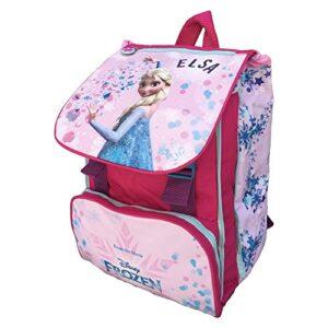 Zaino Frozen Elsa Disney Estensibile Borsa Scuola Elementare Cm 40x29x28 Fr0226 0