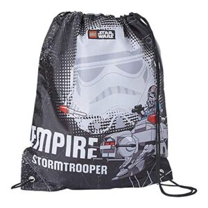 Lannoo Graphics Sac De Sport Lego Star Wars Empire V Stormtrooper Unisex Bambini Nero Blackgrey 2x30x40 Cm W X H L 0