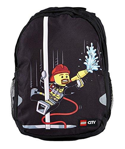 Lego Extendida Vline City Fire Zaino 42 Cm 21 Liters Nero Negro 0
