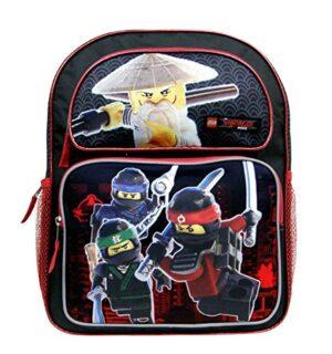 Zaino Medio Lego Ninjago Movie Nerorosso 356 Cm Scuola Lncf45 0