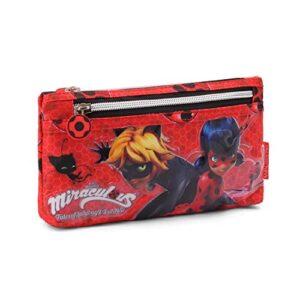 Ladybug Defenders Astuccio 22 Cm Rosso Rojo 0